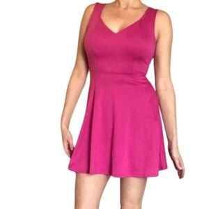 Kirra pink open back cheap party casual dress sm